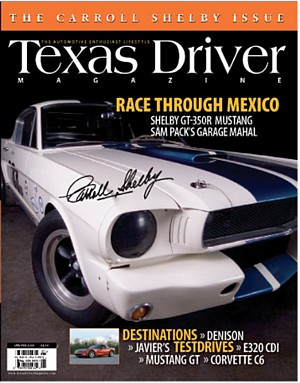 Carrera Pan America Race Story in Texas Driver Magazine